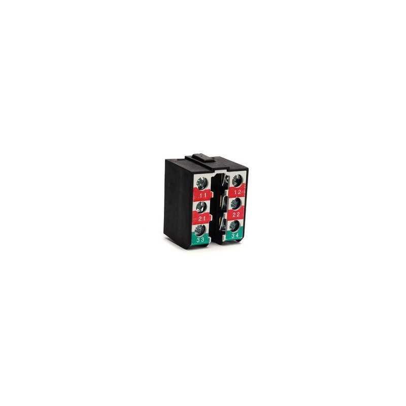 LK20K25 ⟡ Контактный блок медленнодействующий (1НО+2НЗ)