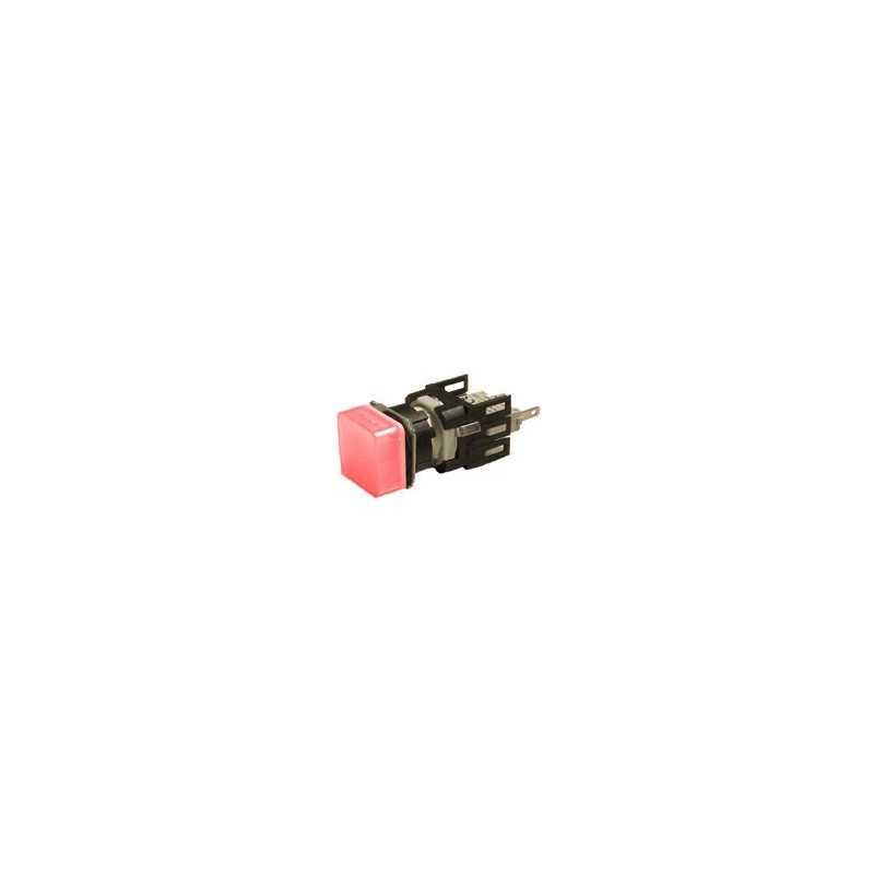 D060KXK ⟡ Арматура сигнальная Ø 16мм квадратная красная
