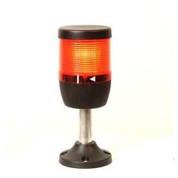 IK71L220XM01 ⟡ Сигнальная колонна Ø 70 мм. Красная 220 вольт, светодиод LED