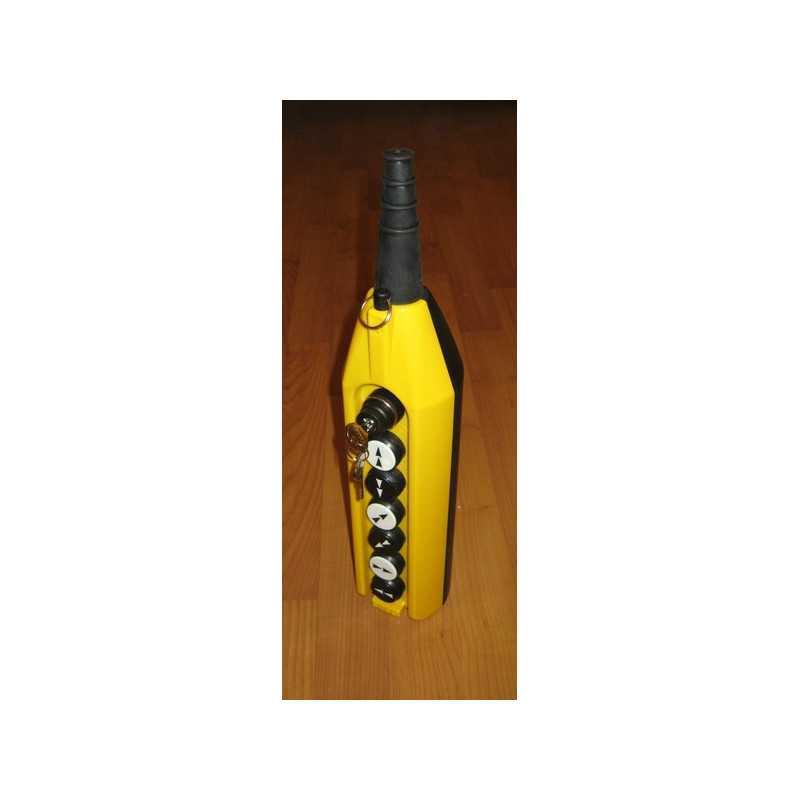 PV7B444A20 ⟡ Пульт управления кран балкой шестикнопочный с ключ маркой двухскоростной