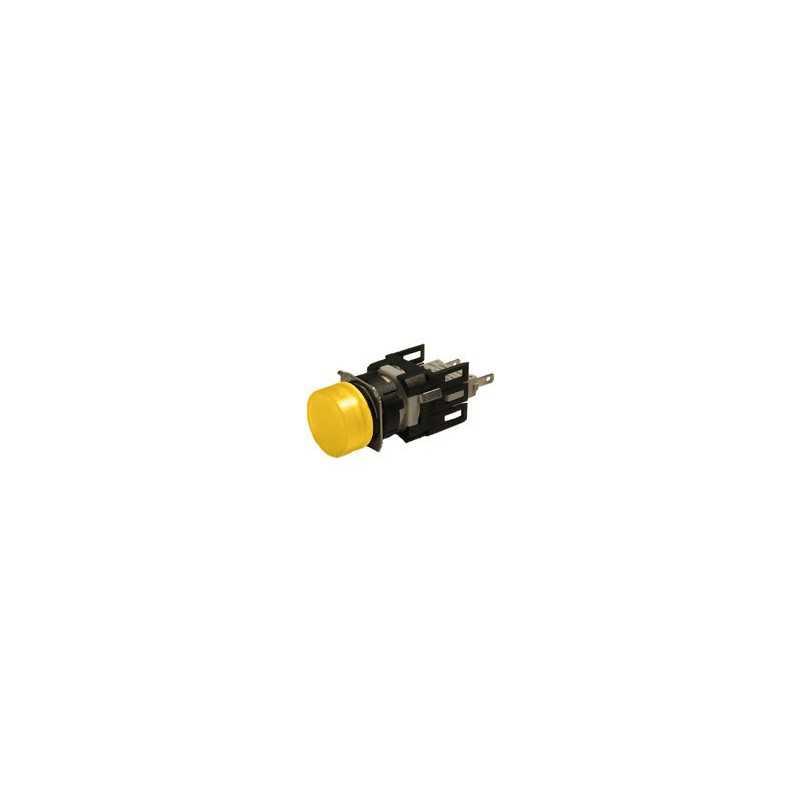 D080YXS ⟡ Сигнальная арматура Ø 16мм круглая желтая