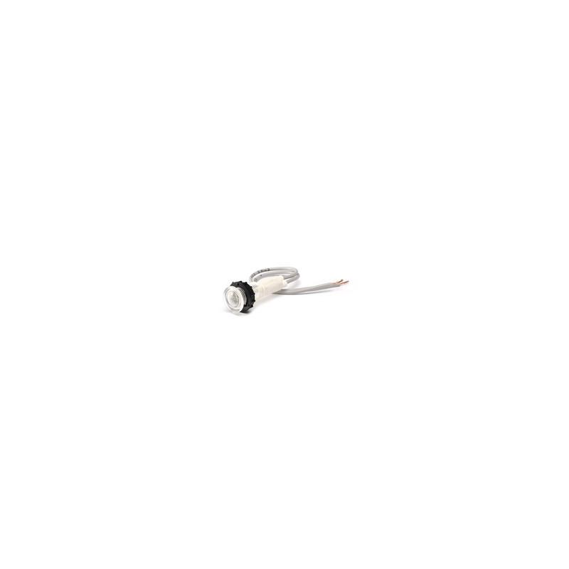 S100LB1 ⟡ Сигнальная арматура 10мм с белым светодиодом 12V AC/DC