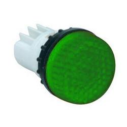B030XY ⟡ Арматура сигнальная зеленая для неоновой лампы (без лампы)