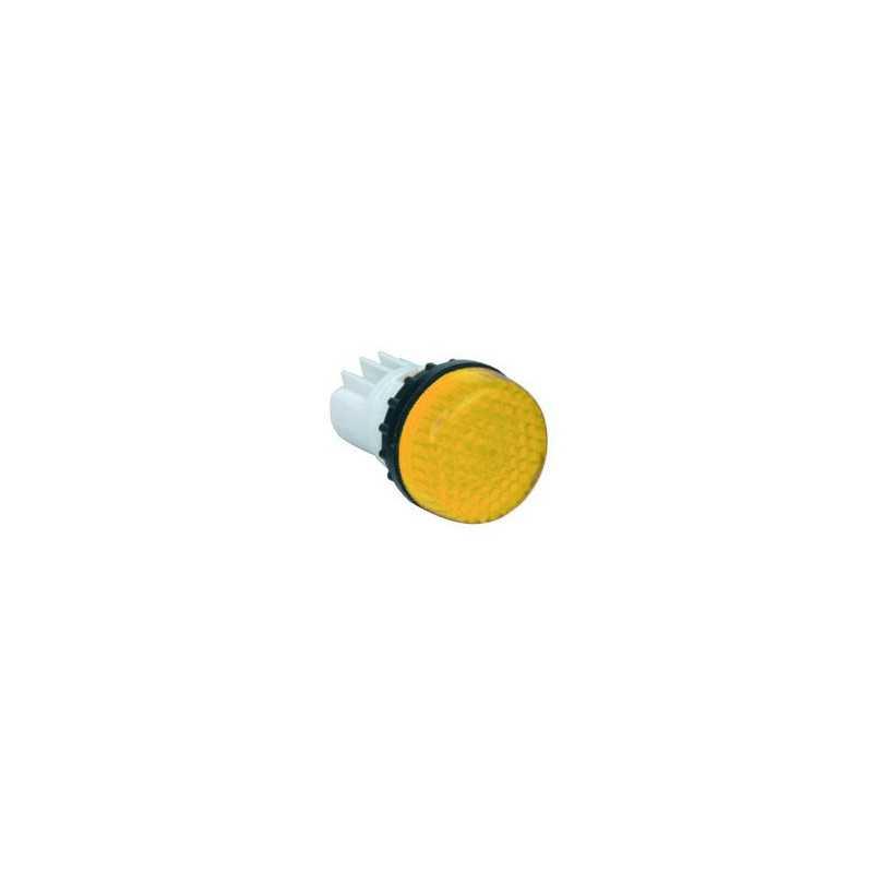 B030XS ⟡ Арматура сигнальная желтая для неоновой лампы (без лампы)
