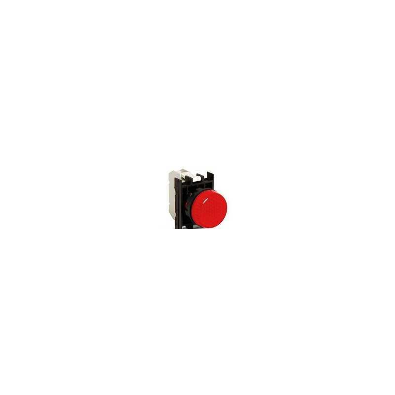 CP0K0XK ⟡ Арматура сигнальная красная со светодиодом 100-250 В переменного тока