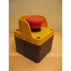 M1C200E40 ⟡ Кнопочный пост управления аварийный металлический