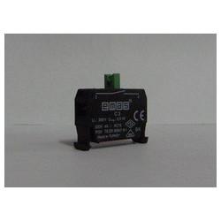C3BK ⟡ Блок-контакт CM CP (1НО) для использования с кнопками серии В в пультах управления