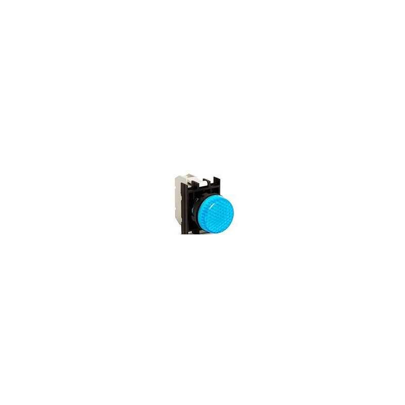 B0M0XM ⟡ Арматура сигнальная синяя со светодиодом 100-200 В переменного тока