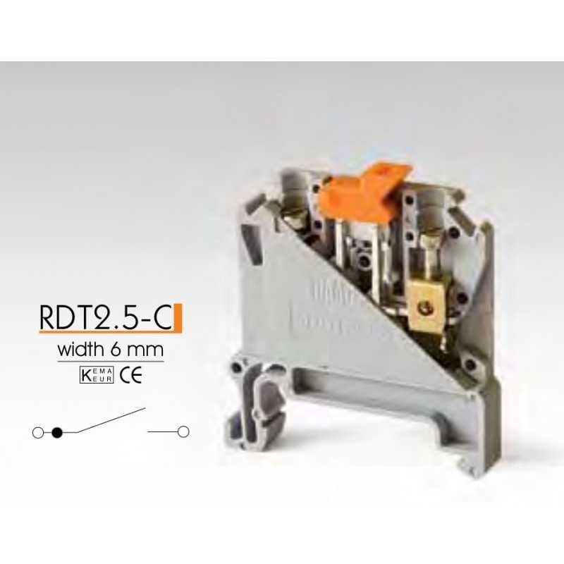 Клеммные зажимы с размыкателем RDT2.5-C