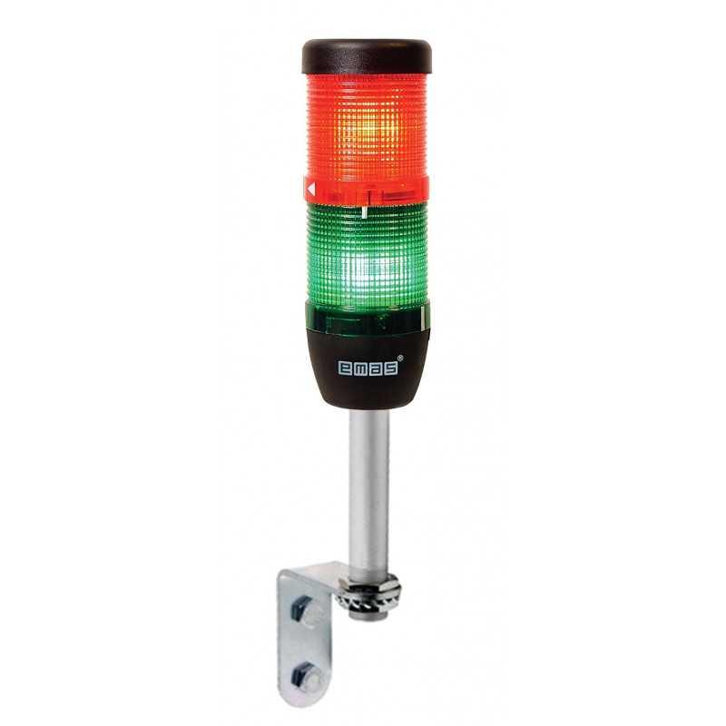 Сигнальная колонна Ø 50 мм. Красный,...