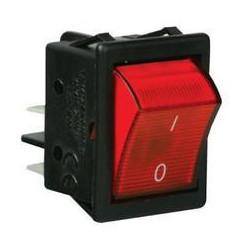 A14K ⟡ Выключатель с подсветкой красный