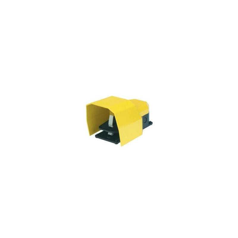PDKS11GX20 ⟡ Педаль с защитной крышкой, 2 скорости 2x(1НО+1НЗ)
