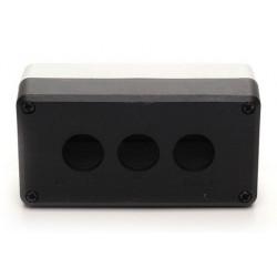 P3BOS ⟡ Кнопочный пост пластиковый пуcтой 3-х кнопочный IP65