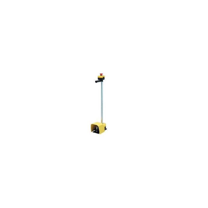 PDKA11GX10 ⟡ Педаль с защитной крышкой 2x(1НО+1НЗ) (с возм. подкл. аксессуаров)