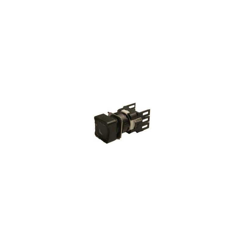D101KDH ⟡ Кнопка квадратная без фиксации черная