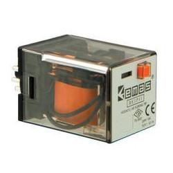 RE1P11DC012 ⟡ Реле на 11 выводов 12 В DC (3 переключающих контакта)
